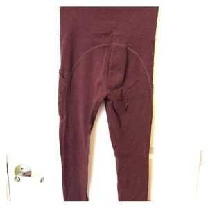 Victoria Secret Maroon Leggings